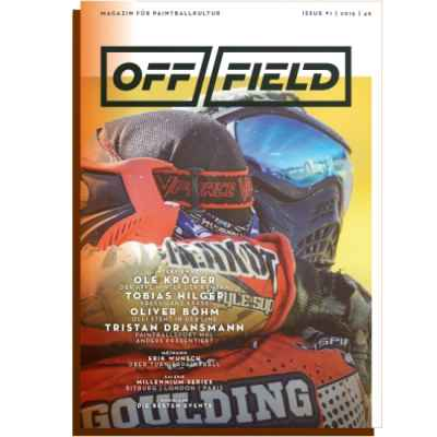 Off Field - Das Magazin für Paintball Kultur (Heft 1) | Paintball Sports