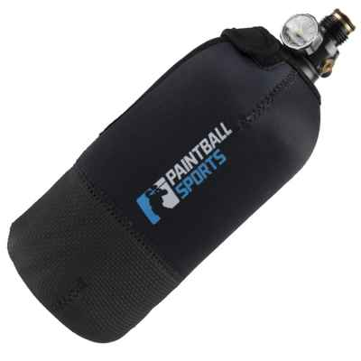 Paintball Sports HP Neopren Tank Cover 1,1 Liter / 0,8 Liter (schwarz) | Paintball Sports