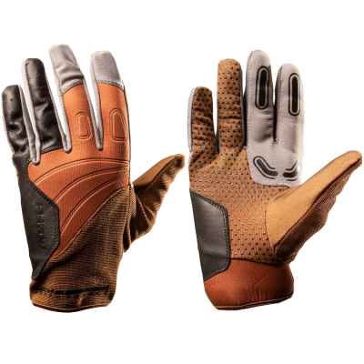 PBRack Flow Gloves Paintball Handschuhe 2.0 (Golden-Brown) | Paintball Sports