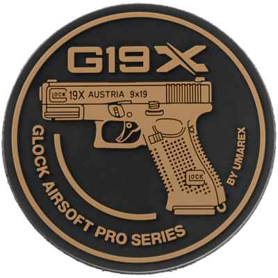 Paintball / Airsoft Klettpatch (Glock 19X) | Paintball Sports
