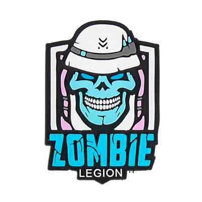 Paintball / Airsoft PVC Klettpatch (Zombie Legion