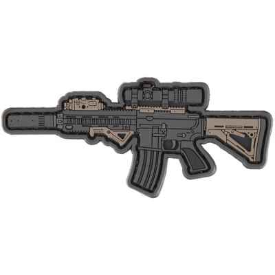 Paintball / Airsoft PVC Klettpatch (Guns MK16 SD) | Paintball Sports