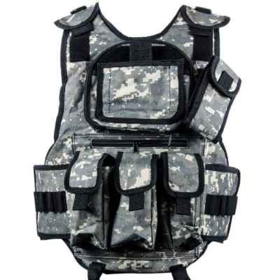 Paintball Tactical Weste 6+1 (Digital ACU Camo) | Paintball Sports