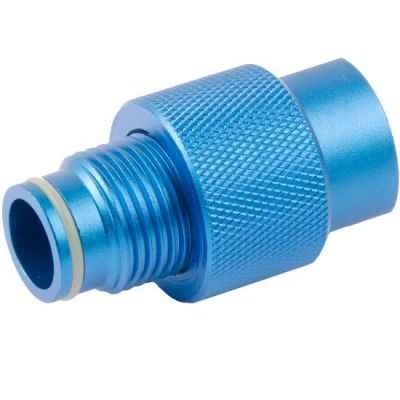 ON/OFF Ventil für ASA Adapter (blau) | Paintball Sports