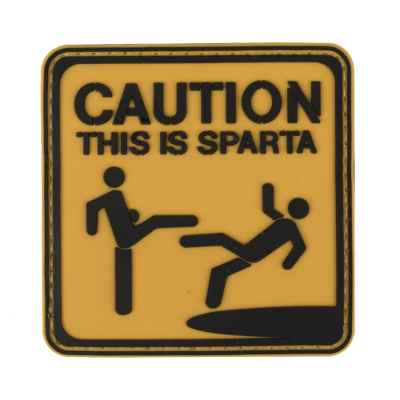 Paintball / Airsoft PVC Klettpatch (This is Sparta) | Paintball Sports