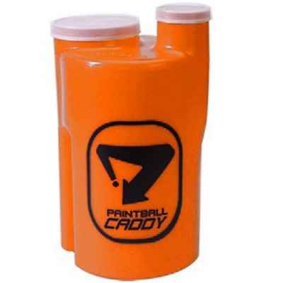 Paintball Pod Caddy / Ammobox für 1.100 Paintballs (neon orange) | Paintball Sports
