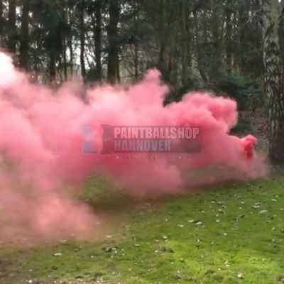 Paintball Rauchbombe / Nebeltopf XXL (rot) | Paintball Sports