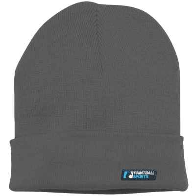 Paintball Sports Beanie / Wintermütze (grau) | Paintball Sports