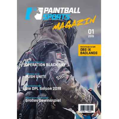 Paintball Sports Magazin - Das Paintball Sports Kundenheft (Ausgabe 01/2019) | Paintball Sports