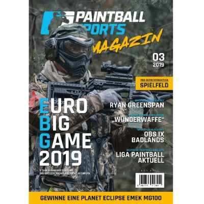 Paintball Sports Magazin - Deine Paintball Zeitschrift (Ausgabe 03/2019) | Paintball Sports