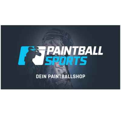 Paintball Sports Werbebanner 130x70cm (Turnier Spieler) | Paintball Sports