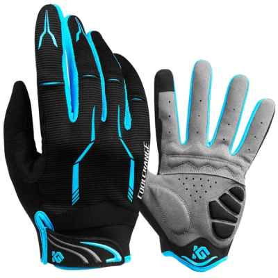 Paintball Handschuhe DYNAMICS (schwarz/blau) | Paintball Sports