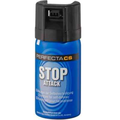 Perfecta Stop Attack CS-Gas Abwehrspray (40ml) | Paintball Sports