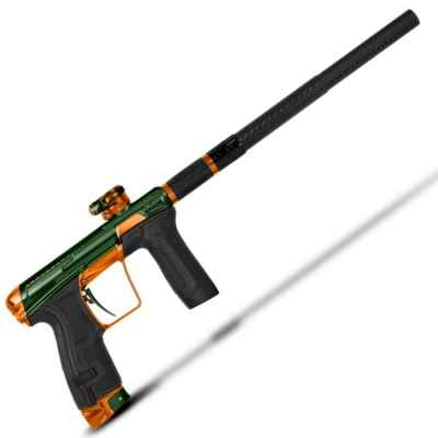 Planet Eclipse GEO CS2 Infamous Edition The Hunter (oliv/orange) | Paintball Sports