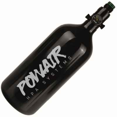 PowAir BASIC Series Paintball HP System 0,8L/48ci (200 Bar) - Aluminium | Paintball Sports