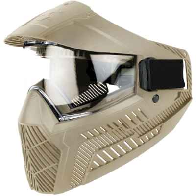 ProShar BASE Paintball Thermal Maske - Tan | Paintball Sports