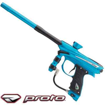 Proto Reflex 2014 Paintball Markierer (Cyan Black) | Paintball Sports
