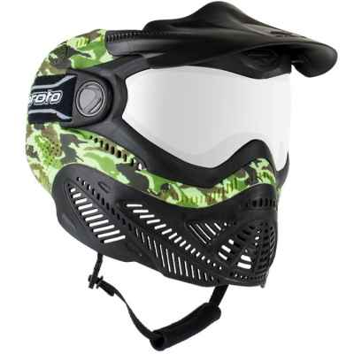 Proto Switch FS Paintball Thermal Maske (Camo)   Paintball Sports
