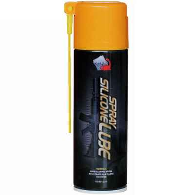 PuffDino Silikon Spray / Sprüh-Fett für Paintball & Airsoft Markierer (220ml) | Paintball Sports