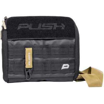 Push Division One Gun Bag / Paintball Markierer Tasche (schwarz) | Paintball Sports