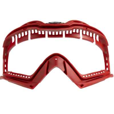 Push Unite Lens Frame / Maskenglas-Rahmen (rot) | Paintball Sports