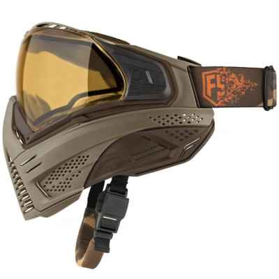 Push Unite Paintball Maske First Strike Edition (Tan/braun) | Paintball Sports
