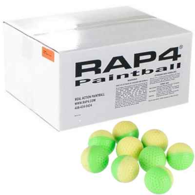 RAP4 Golf Balls / Paintball Powderballs (2000er Karton) | Paintball Sports