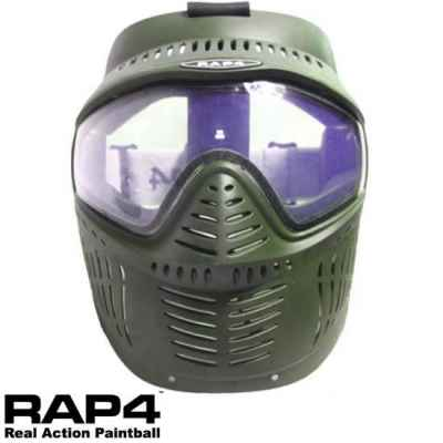RAP4 Hawkeye Paintball Thermal Maske (oliv) | Paintball Sports