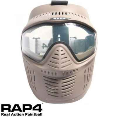 RAP4 Hawkeye Paintball Thermal Maske (Desert / Tan) | Paintball Sports