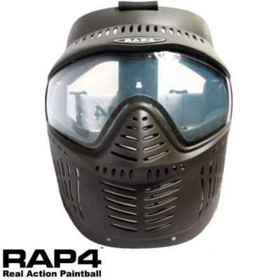 RAP4 Hawkeye Paintball Thermal Maske (schwarz) | Paintball Sports