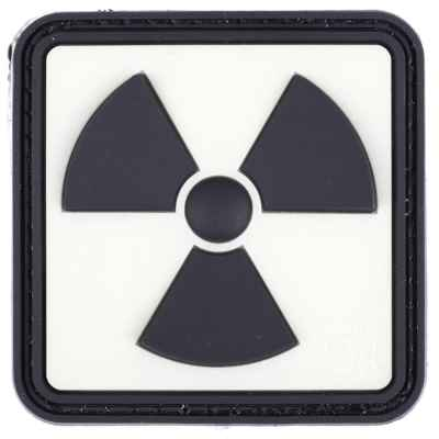 Paintball / Airsoft PVC Klettpatch (Radioactive - Glow Back) | Paintball Sports