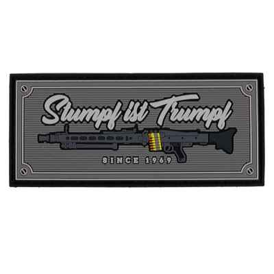 Paintball / Airsoft PVC Klettpatch (Stumpf ist Trumpf – since 1969) | Paintball Sports