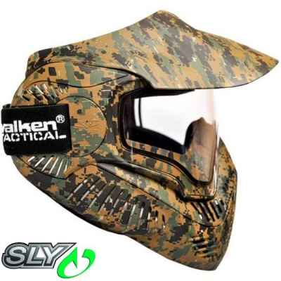 Sly Annex MI-7 Paintball Thermalmaske (Marpat) | Paintball Sports