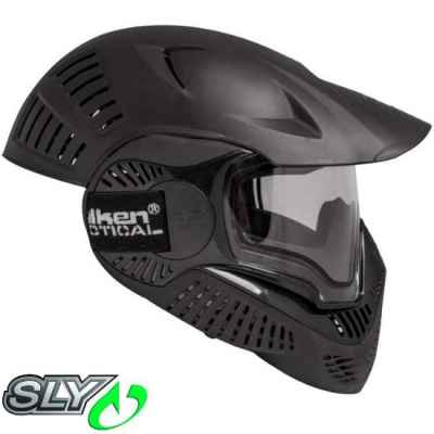 Sly Annex MI-7 Full Cover Paintball Thermal Maske (schwarz) | Paintball Sports