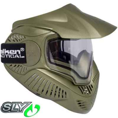 Sly Annex MI-7 Paintball Thermalmaske (oliv) | Paintball Sports