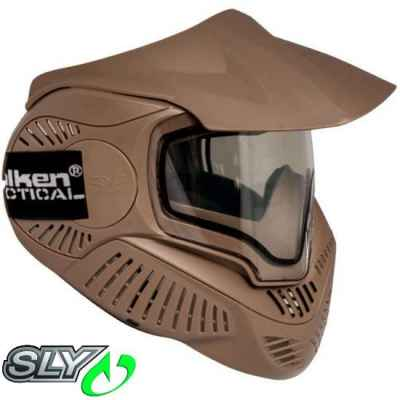 Valken MI-7 Paintball Thermalmaske (Earth / Tan) | Paintball Sports