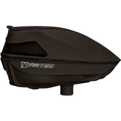 Virtue Spire IV 280 Paintball Hopper / Loader (Black) | Paintball Sports