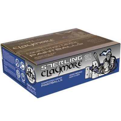 Sterling Claymore Premium Field Paintballs (2000er Karton) | Paintball Sports
