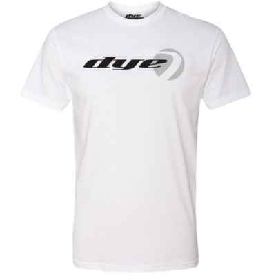 Dye T-Shirt (Logo Lock) Weiss | Paintball Sports