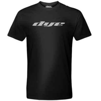 Dye T-Shirt (Logo Solid) Schwarz | Paintball Sports