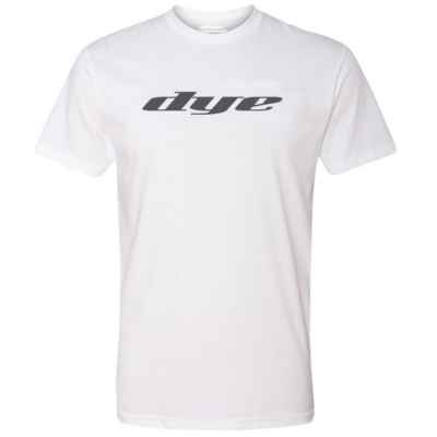 Dye T-Shirt (Logo Solid) Weiss | Paintball Sports