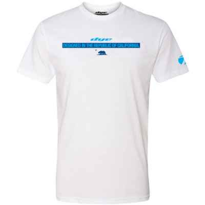 Dye T-Shirt (Dye Republic) Weiss | Paintball Sports