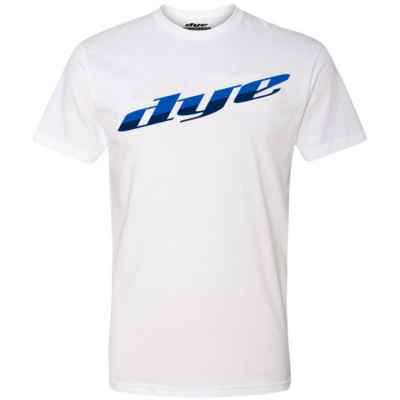 Dye T-Shirt (Dye Split) Weiss/Blau | Paintball Sports