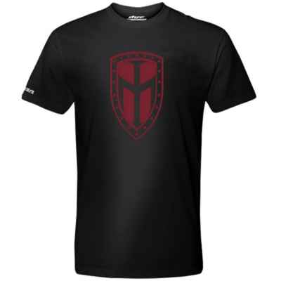 Dye T-Shirt (Ironmen Shield) Schwarz | Paintball Sports