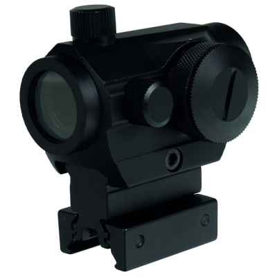 T1 Tactical Scope Red Dot Visier (20mm Rail, schwarz) | Paintball Sports