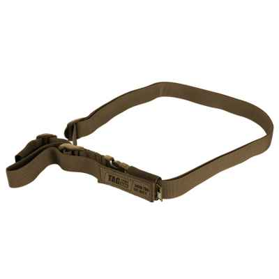Taginn 1-POINT Trageriemen / Tactical Sling (Coyote Brown) | Paintball Sports