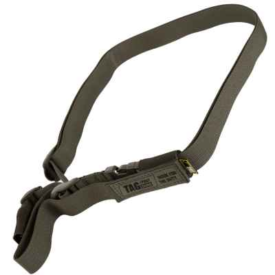 Taginn 1-POINT Trageriemen / Tactical Sling (oliv) | Paintball Sports