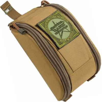Taginn Battle Pouch / Granaten Tasche für 38mm Munition (Tan) | Paintball Sports