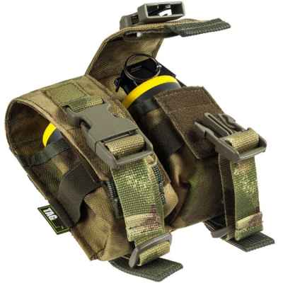Taginn Double Grenade Pouch / Handgranaten Tasche (2er) - Camo | Paintball Sports