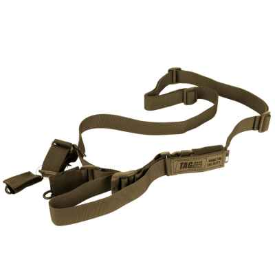 Taginn RUSH Trageriemen / Tactical Sling (Coyote Brown) | Paintball Sports